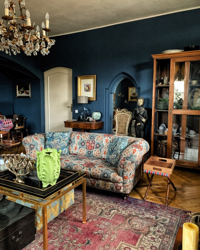 The Blue Sitting Room